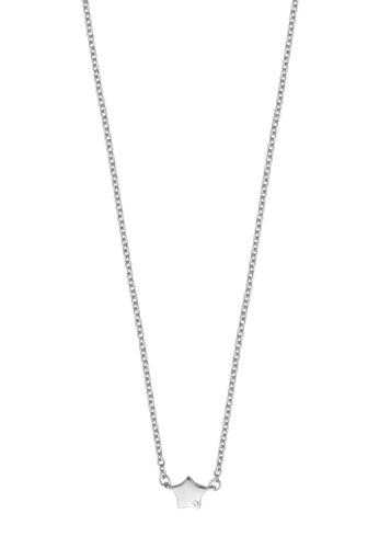 Esprit silver ESPRIT [Stellar Petite] Silver Sterling Silver Necklace (42 cm + 3 cm extension) 10D30AC37A86F6GS_1
