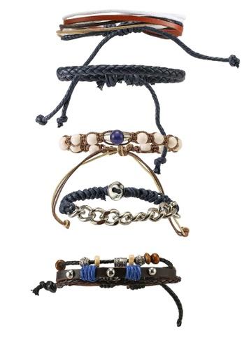 ALDO blue Maenflex Bracelets E4157ACC5CC46EGS_1