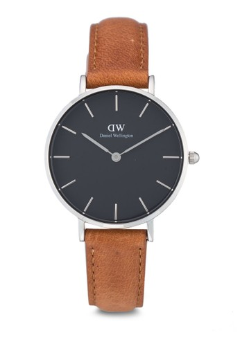 Daniel Wellington brown Classic Petite Durham Watch DA965AC0UKSSID_1