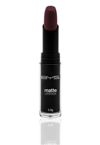 BYS purple Matte Lipstick in Purple Dawn BY206BE47WKAPH_1