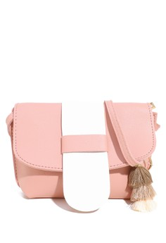 Phoebe   Chloe pink Tas Mini Stripe Color Pink 86489AC6DBE601GS 1 e0ac6044af