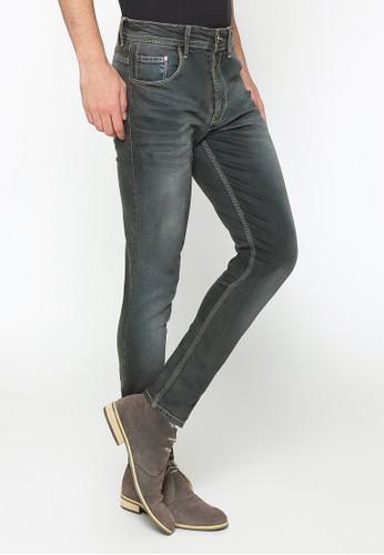 2nd Red grey 2Nd Red Jeans Slim Fit Pria Premium Denim Stretch 133247A 7D946AABC2CC72GS_1