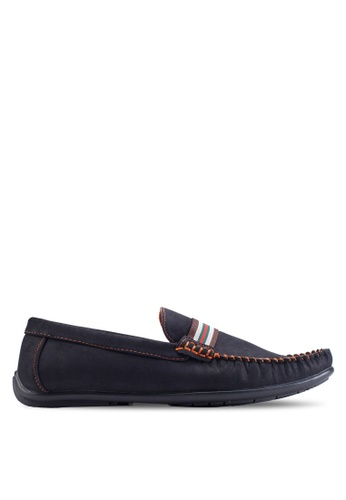 Louis Cuppers black Casual Moccasins LO977SH70ZKBMY_1