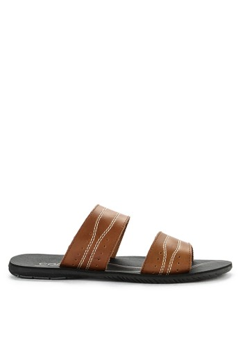 CARVIL brown Sandal Casual Men Fiberco-02M 84DBESH4CF367FGS_1