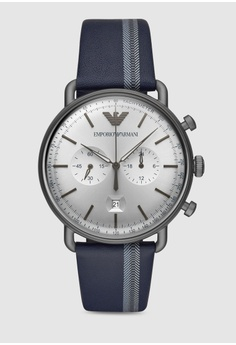 8387dba17f Emporio Armani blue Aviator Watch AR11202 0AAD5ACC1782E4GS 1