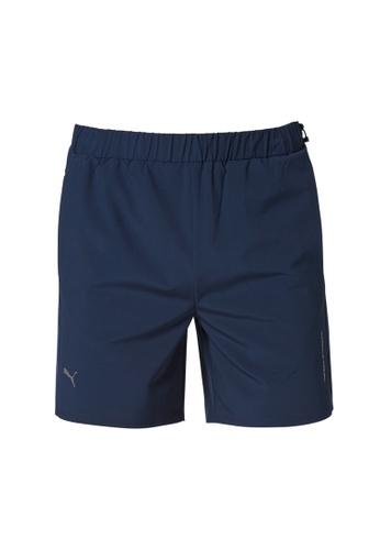 Porsche Design navy PUMA x Porsche Design Men's Blue Active Shorts for Men Navy 6845FAA422FAAFGS_1