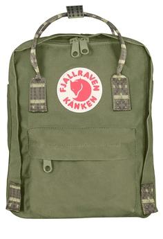 062f9afbc26df Fjallraven Kanken green Green-Folk Pattern Kanken Mini Backpack  088F2AC1177C3CGS 1