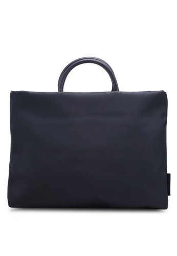 Bagstationz navy Lightweight Nylon 15.6 Inch Laptop Bag 93EEBAC375AC52GS_1