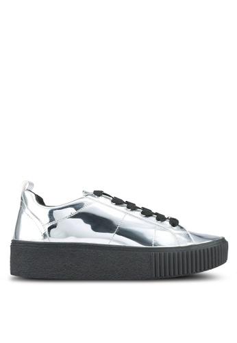 ALDO silver Aliotta Sneakers AL087SH0RPIOMY_1