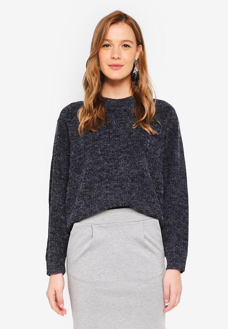 ICHI Eclipse Knit Pullover Total Novo qwRAx4OS