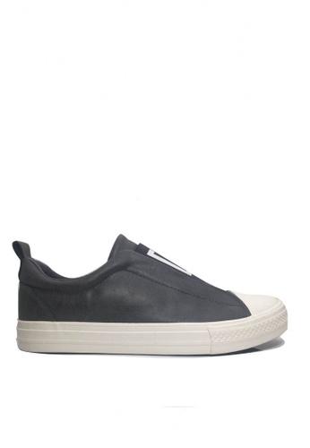 Twenty Eight Shoes grey Elastic Slip-Ons Shoes VMC7086 9149ASHEAF1FFAGS_1