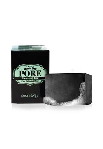 Secret Key black Black Out Pore Cleansing Bar SE882BE35BPSSG_1