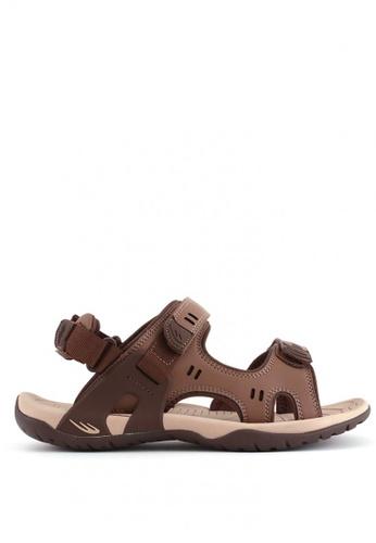 World Balance brown Terracotta MS Sports Sandals WO444SH0KU7APH_1