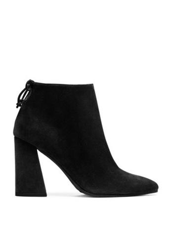 Twenty Eight Shoes black Synthetic Suede Ankle Boots 677-1 TW446SH42MKVHK_1