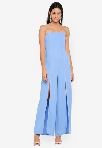 27543a8a533 Buy TOPSHOP Bandeau Jumpsuit Online on ZALORA Singapore