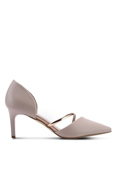 buy online e6519 d2972 VINCCI pink Slide On Heels 1DFC7SH34833BEGS 1