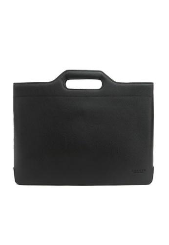 Kawamura black Lotuff Briefcase & Tote bag - Black KA871AC29FVIHK_1