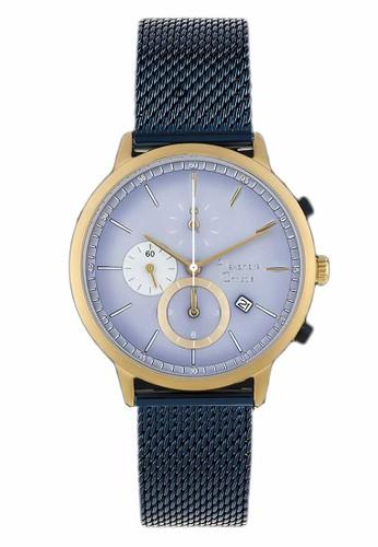 Alexandre Christie navy Alexandre Christie Jam Tangan Pria - Blue Rosegold - Tali Pasir - 6498 MCBUGBU 3E4AEACC6C692BGS_1