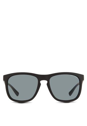 Armani Exchange black Urban Attitude AX4058SF Polarized Sunglasses  AR162GL36QNRMY 1 2704e590b95f0