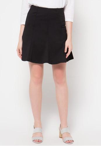 Raspberry black Sophie Mini Skirts RA572AA65OVEID_1