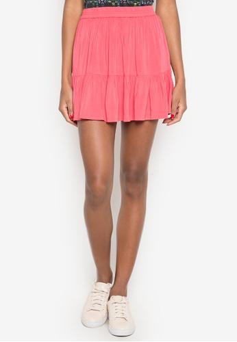 Aeropostale orange Girls Woven Skirts AE420AA0K4ILPH_1