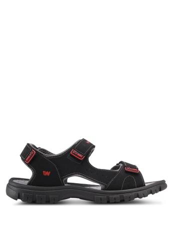 Weinbrenner black Bahama Sandals A611ASHEBAB02CGS_1