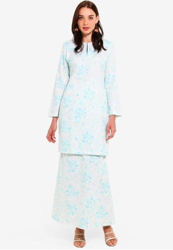 Butik Sireh Pinang blue Maissa Modern Kurung 167DAAA0AE729DGS_1