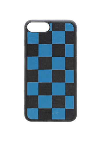 POROLUXE blue PHONE CASE FOR IPHONE 6+/7+/8+ 693F1ACCC26A7BGS_1