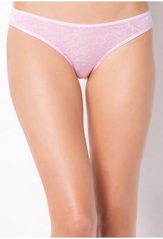 Mid Waist Nylon Bikini