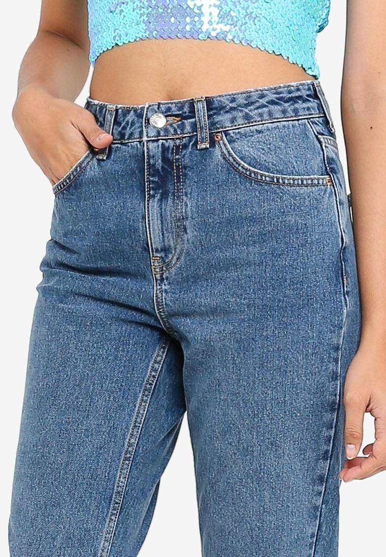 9f6cf11340527e Mid Petite Denim Mid Blue Mom Jeans TOPSHOP 8Cn5OqHn-klausecares.com