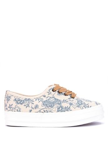 BENCH blue Canvas Sneakers D0AF8SH9A585A6GS_1