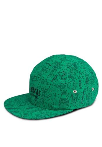 LIBERTAD 印花鴨舌esprit童裝門市帽, 飾品配件, 鴨舌帽