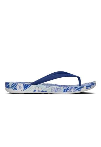 FitFlop blue Fitflop Iqushion Aloha Illusion Blue B0174SH43FB66FGS_1