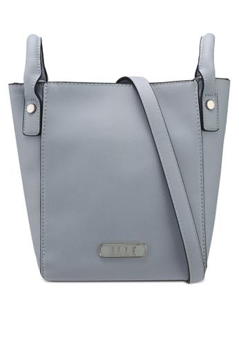 ELLE blue Mini Cover Sling Bag AB7F7ACFB9A5C1GS_1