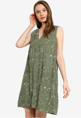Gap green Sleeveless Mini Dress 1B2FBAAE0E7D9CGS_1