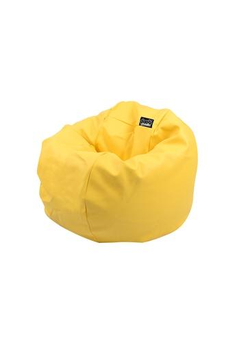 doob yellow SOOPATOONA - canned-food PVC leather doob bean bag (Yellow) DF0FAHLEE33832GS_1