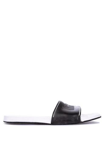 Havaianas black and white Slide Flip Flops ED7D4SH97A6F4EGS_1