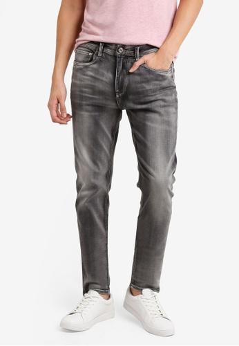 CR7 灰色 Type S窄管牛仔褲 CR532AA88EFFMY_1