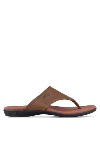Louis Cuppers brown Casual Sandals LO977SH25RDIMY_1
