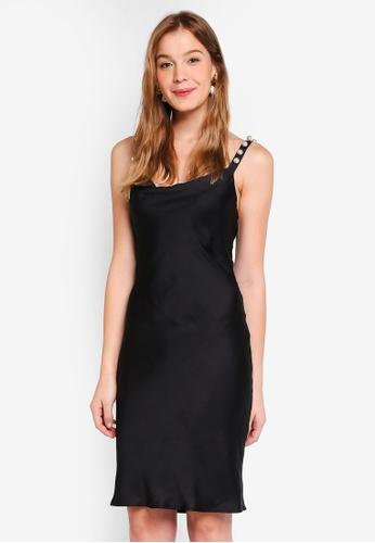 Bardot black Pearl Cami Dress AC0E5AA73E24DEGS_1