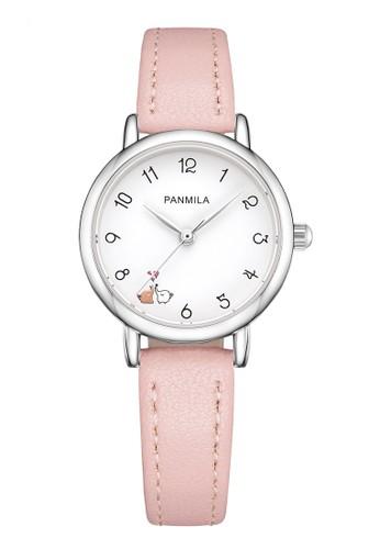Panmila Panmila Jam Tangan Wanita Kasual P0490S-DZ1RLW Pink D216EAC3C9DE8EGS_1
