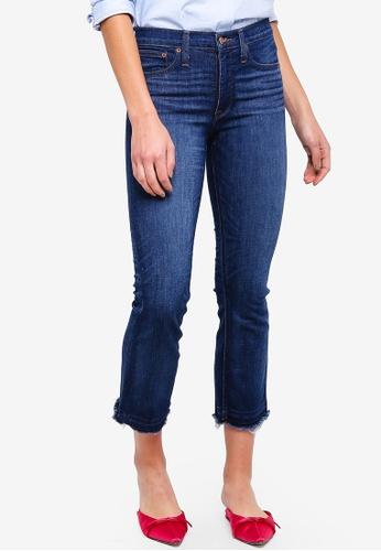 J.Crew blue Billie Demi-Boot Crop Jeans 4C63FAA6C0A1CDGS_1
