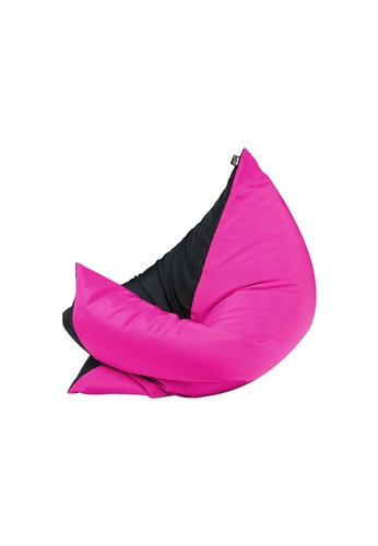 doob black and pink and multi PLOPSTA' - versatile spill-proof doob bean bag (Chilled Candy) 63FE9HLEB1AF14GS_1