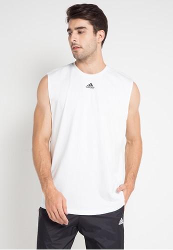 adidas white adidas id jersey tank top AF10CAA383EC71GS_1