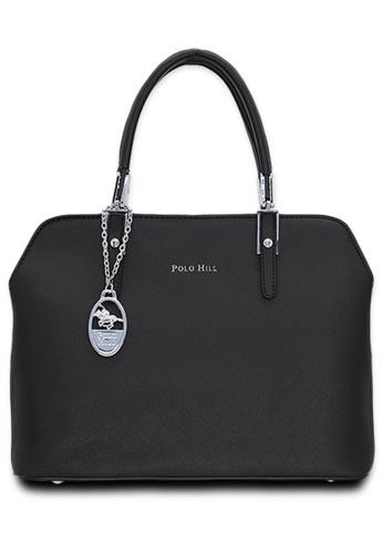 Polo Hill black Polo Hill Lauren Tote Bag D33EFAC154BADBGS_1