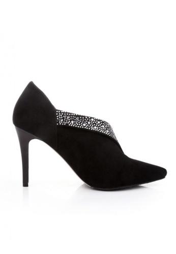 Sunnydaysweety 黑色 限量秒殺品 - 新款個性黑色羊皮高跟鞋 RA092714 SU395SH094QVTW_1