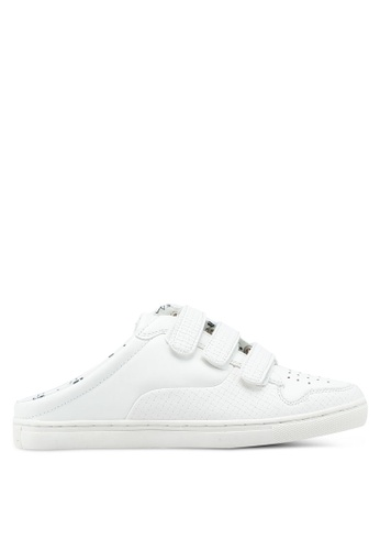 River Island white Backless Trainers 004F4SHE666754GS_1