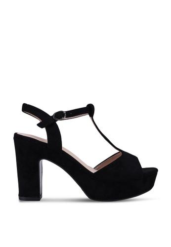 NOVENI black Night Platform Block Heels CE889SHC56E122GS_1