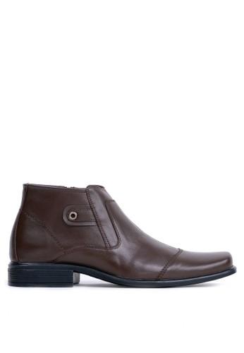 Tony Perotti brown Tony Perotti Boots Benny - Brown AF7D3SHB61469FGS_1