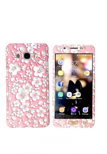 uk availability 8fa1e 08dc2 360 Degree Full Body Protection 3D Coque Phone Cover Galaxy J7 2016